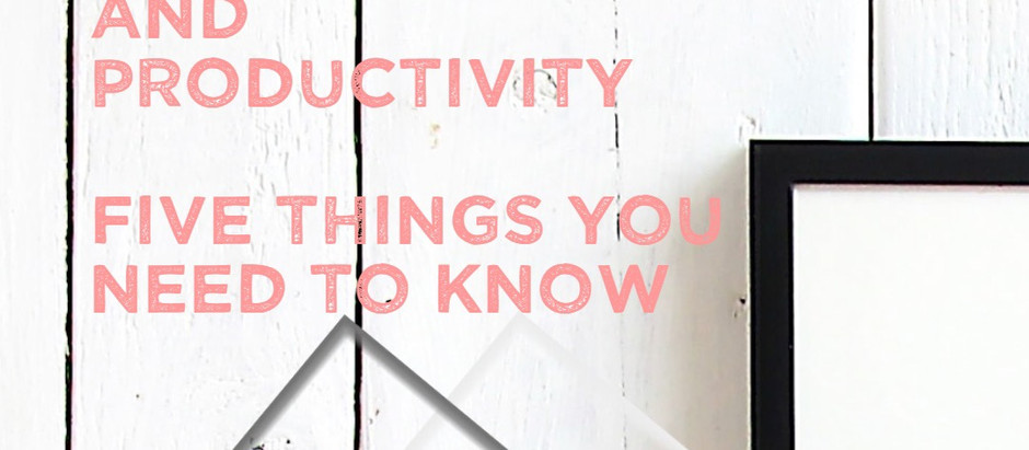 Five things you need to know about Productivity and Presence