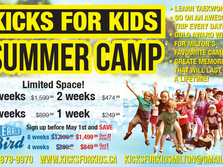 Summer Camp is coming quick!