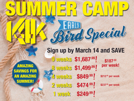 Summer Camp Registration is now open!