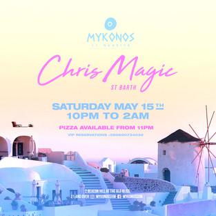 Mykonos Saturday May 15th