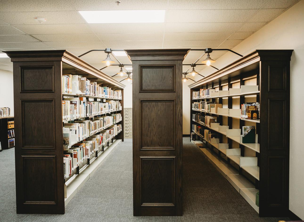 Dodge City Public Library: KHC stacks