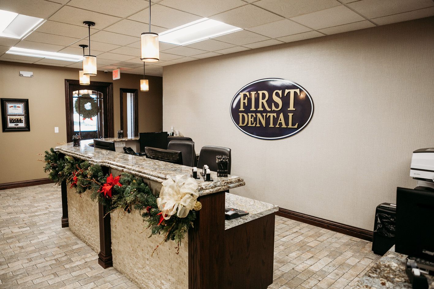 First Dental: Reception