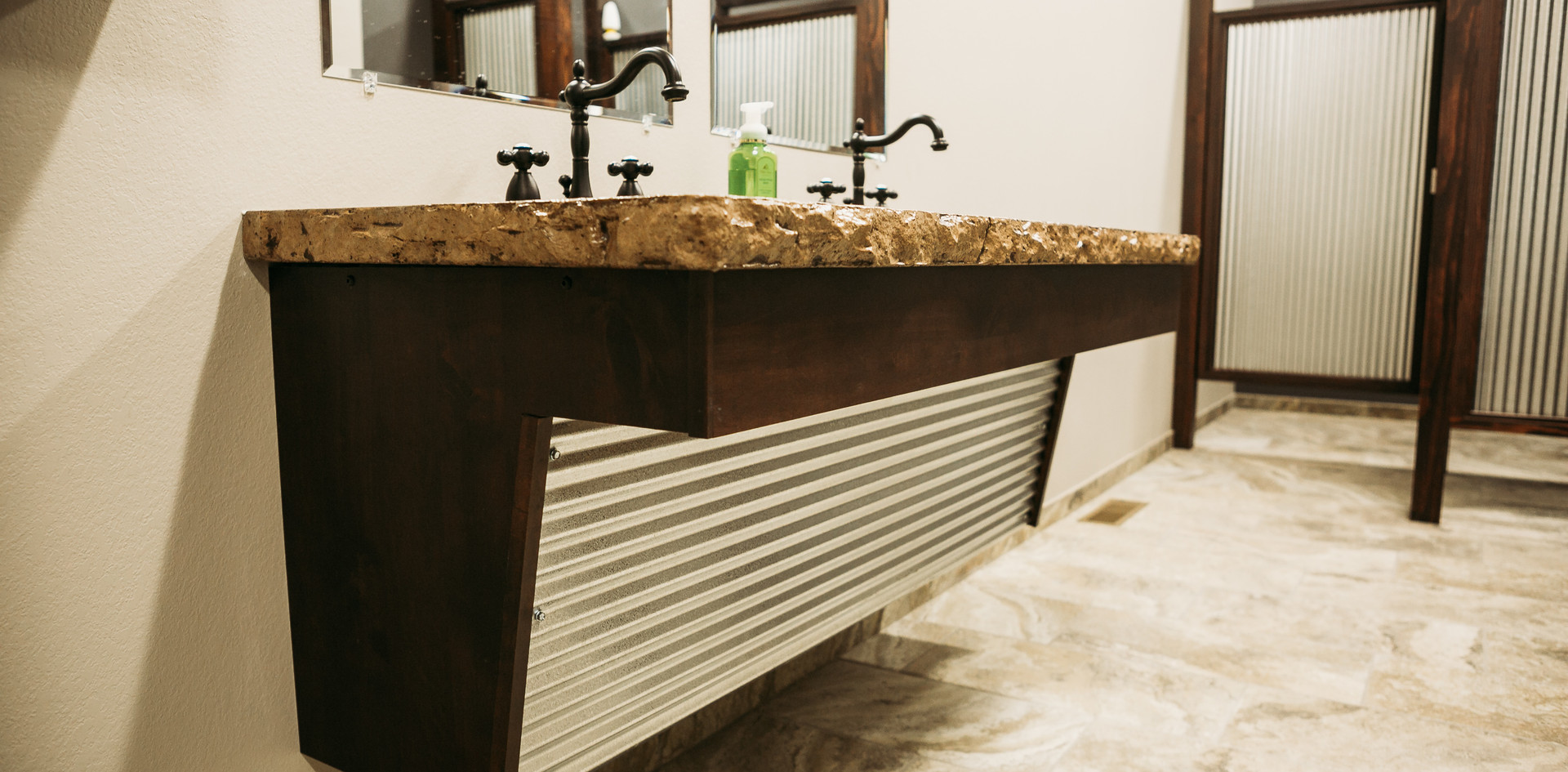 EGE Products Office: Restroom Vanity