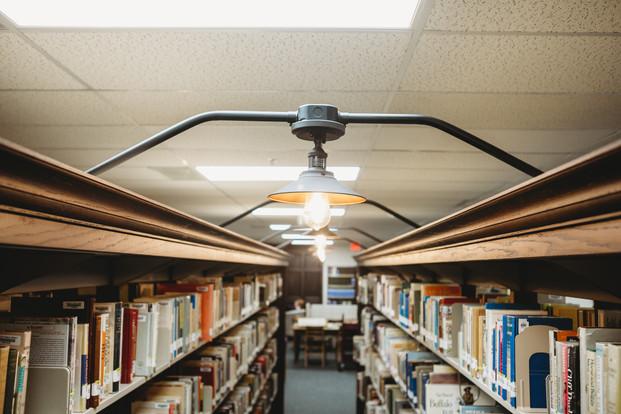 Dodge City Public Library: KHC Stack Lighting