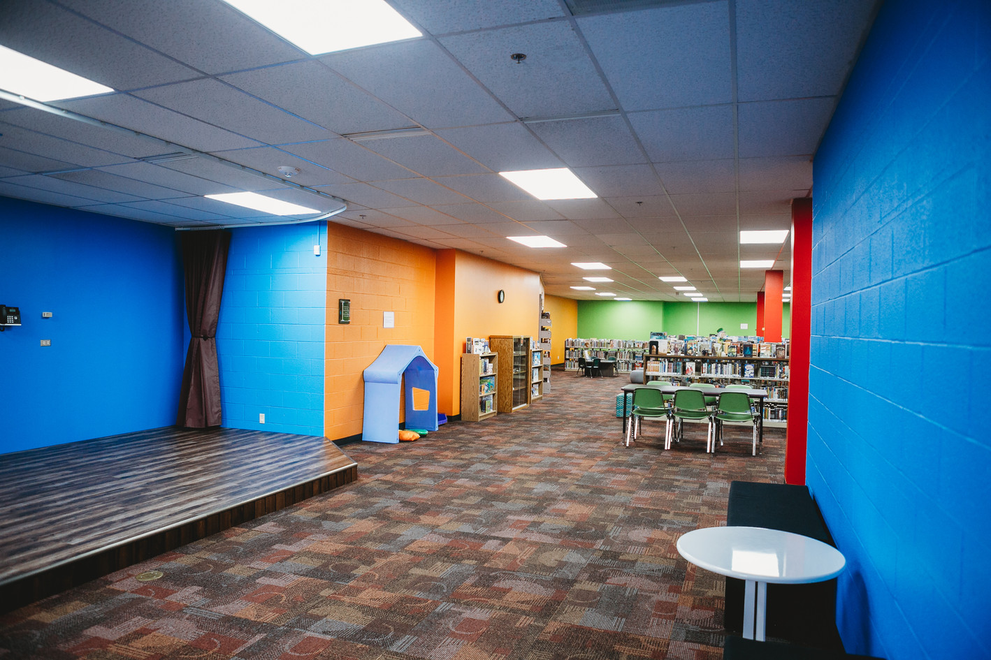 Dodge City Public Library: Storytime Stage
