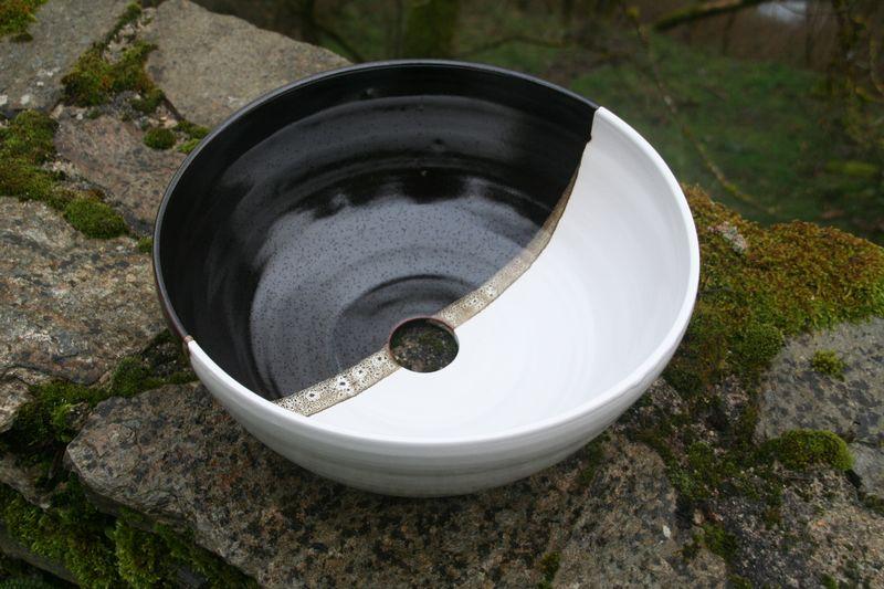 vasque en grès