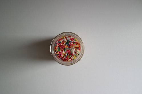 Pesto Soy Sprinkle Christmas Candle