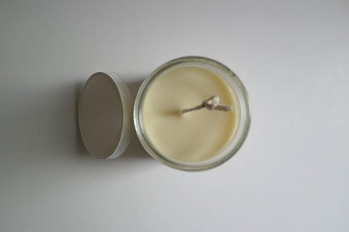 Milk Soy Beeswax Blend Lime Clove Candle