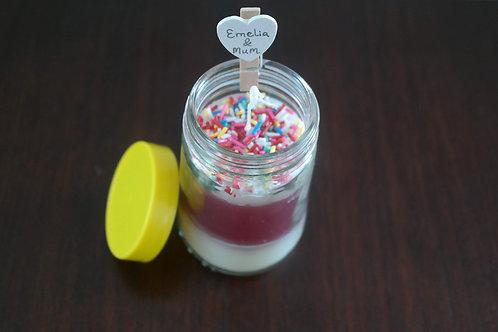 Trifle Mustard Jar Candle
