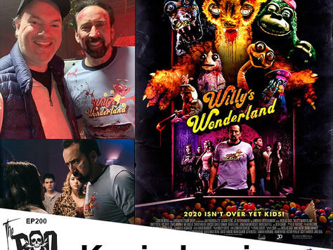 The Boo Crew Celebrate the 200th Episode Release at Willy's Wonderland with Filmmaker Kevin Lewis