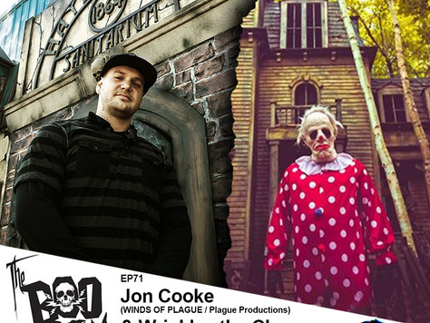 The Boo Crew Hangs Out with Haunt Architect Jon Cooke and 'Wrinkles the Clown' Documentary F