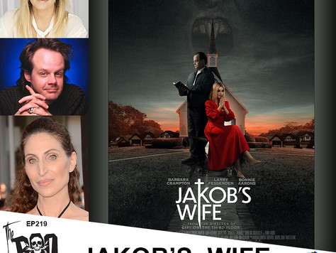 The Boo Crew Chat with the Stars of JAKOB'S WIFE Barbara Crampton, Larry Fessenden, & Bonnie Aarons