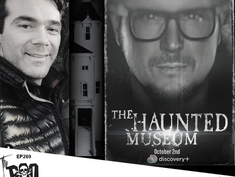 The Boo Crew Explore Some Terrifying Artifacts in THE HAUNTED MUSEUM with Filmmaker Justin Harding