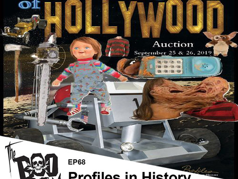 The Boo Crew Discusses Horror Props and Collecting with Profiles in History!