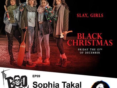 Sophia Takal Joins the Boo Crew to Unwrap Her New Festive Horror film 'Black Christmas'
