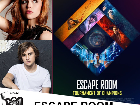 The Boo Crew Survive the ESCAPE ROOM with Award Winning Actors Holland Roden and Logan Miller