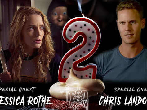 The Boo Crew Gets Stuck in a Time Loop with Jessica Rothe and Chris Landon of Happy Death Day 2U!