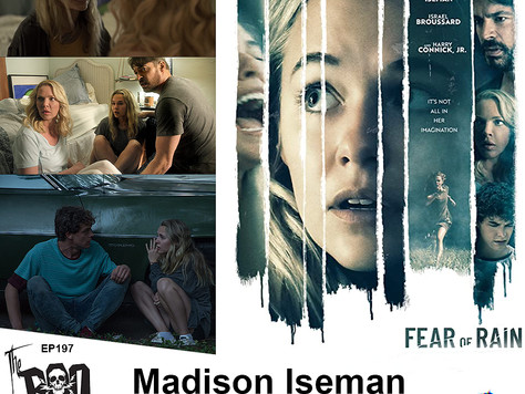 The Boo Crew Chats with FEAR OF RAIN Stars Madison Iseman and Israel Broussard