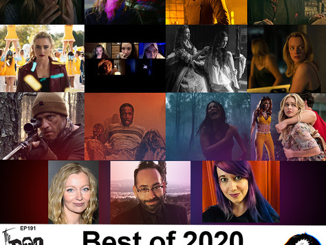 The Boo Crew Celebrate Horror's Best of 2020 with Axelle Carolyn, Mike Mendez & Chelsea Stardust