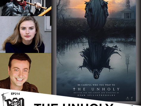The Boo Crew Chat with Filmmaker Evan Spiliotopoulos and Actors Cricket Brown & Jeffrey Dean Morgan