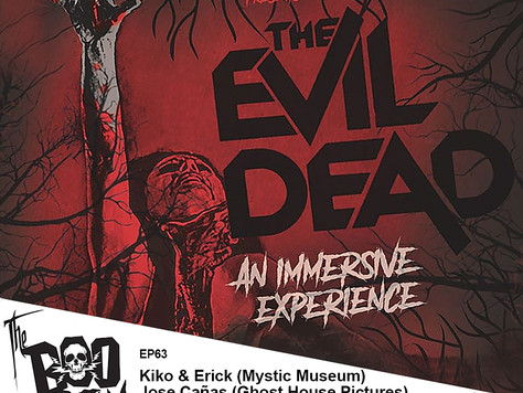 The Boo Crew Grabs their Boomstick and Chainsaw for The Evil Dead: An Immersive Experience!