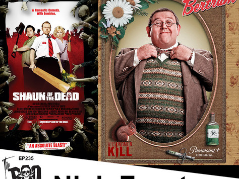 The Boo Crew Chat with Legendary Filmmaker, Author and Actor, Nick Frost!
