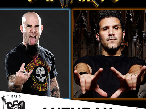 The Boo Crew Rocks Out with Scott Ian and Charlie Benante to Celebrate 40 years of ANTHRAX