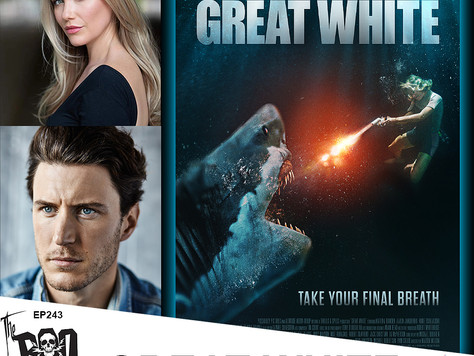 The Boo Crew Chat with Katrina Bowden & Aaron Jakubenko of the Tension Filled GREAT WHITE