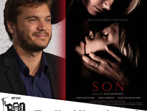 The Boo Crew Chat Horror and Music with Emile Hirsch the Star of Horror Thriller 'SON'