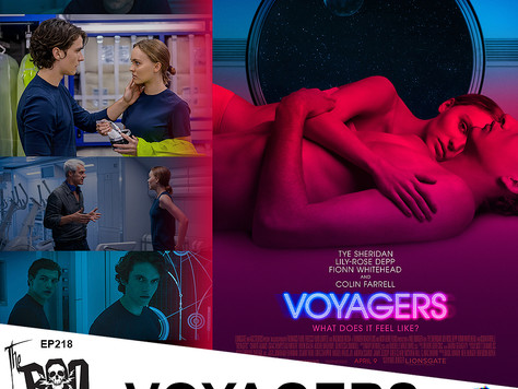 The Boo Crew Blast Off On a Secret Mission with VOYAGERS Writer/Director Neil Burger