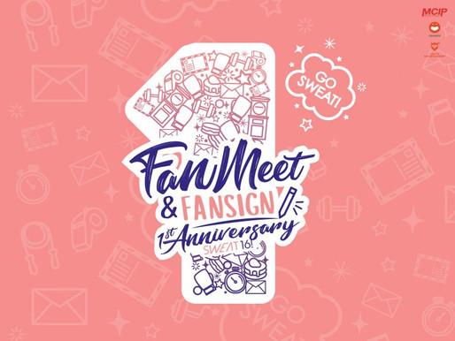 Fan Meet & Fansign 1st Anniversary SWEAT16!