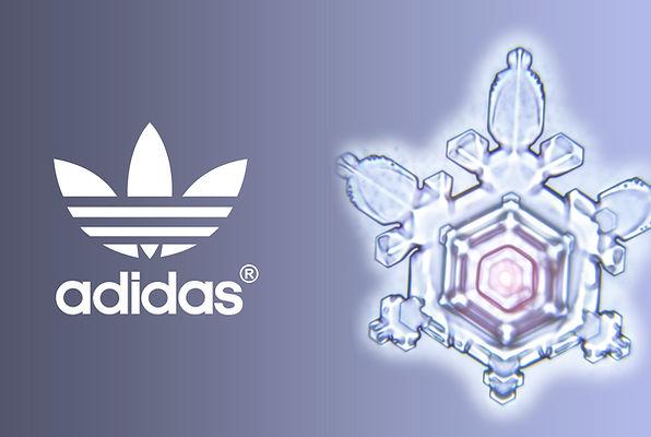 Adidas Wasserkristall Fotografie; Watercrystal Photography