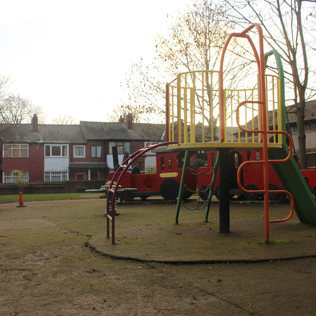 A view from the climbing frame