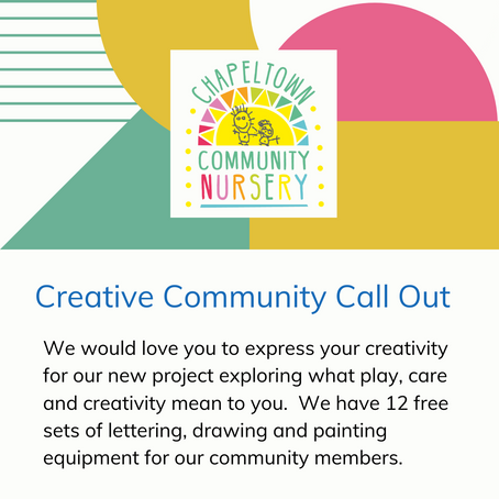 Chapeltown Creative Call Out