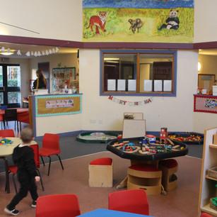 Inside our nursery