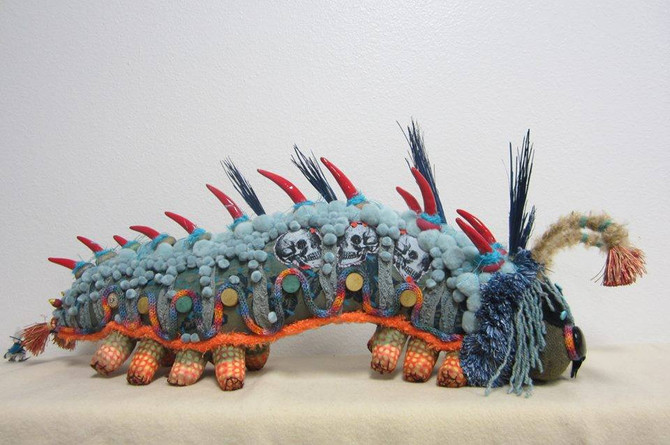Caterpillar of the Week: by Artist Gail Schellinger