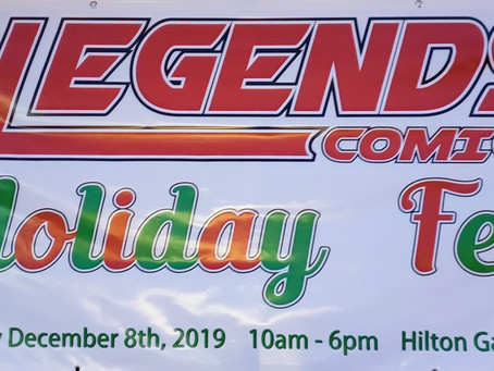 2nd Annual Legends Comics Holiday Fest 2020