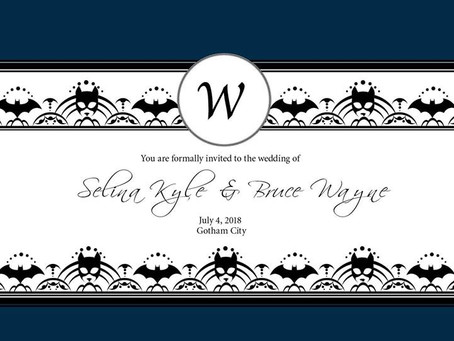 Batman & Catwoman's Wedding