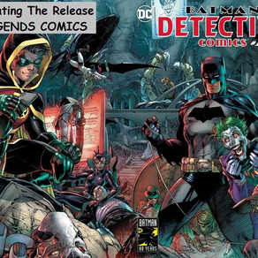 Detective Comics #1000 Legends Comics Release
