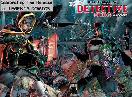 Detective Comics #1000 Legends Comics Release