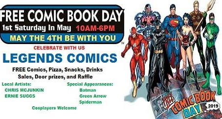 Free Comic Book Day (FCBD) 2019