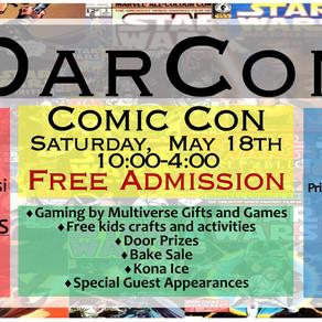 DarCon Library Comic Con 2019
