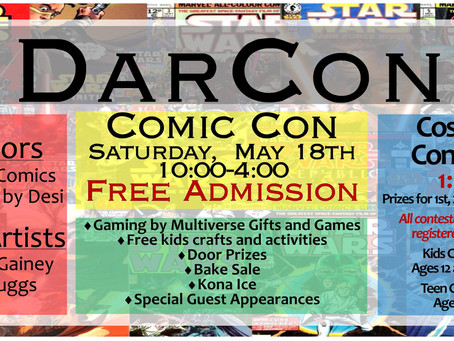 DarCon Library Comic Con 2019