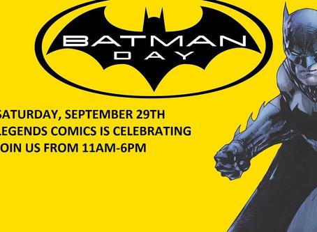 Celebrating Rescheduled Batman Day 2018