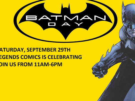 Celebrating Rescheduled Batman Day 2018