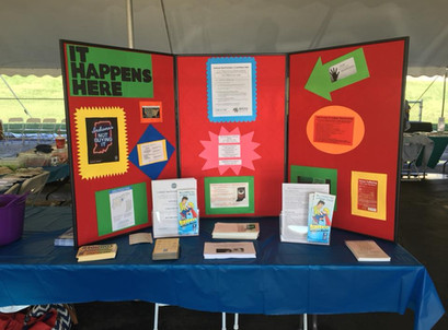 Tabling at a community event