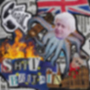 Space is Big - Shit Britain cover origin