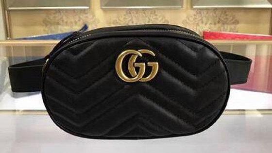 Gucci Marmont Leather Belt Bag