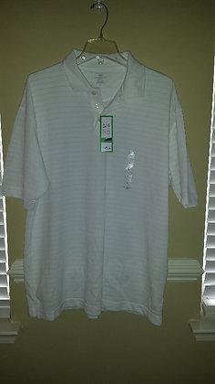 Dockers white golf shirt Size L