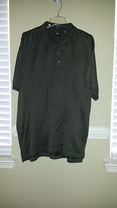 Izod brown golf cotton cool fx shirt Size 2X